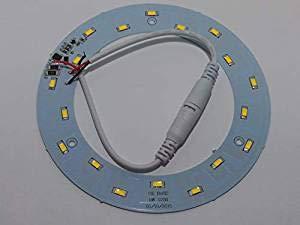 Aokairuisi T4 Camper Circolina LED Plate 9W =90W 12V 18 SMD 5730 4500K