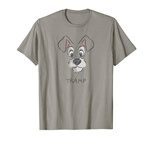 Disney Tramp Drawing Lady and the Tramp Costume T-Shirt