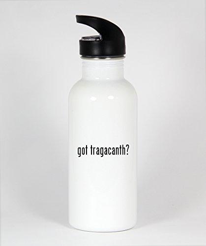 got tragacanth? - Funny Humor 20oz White Water Bottle