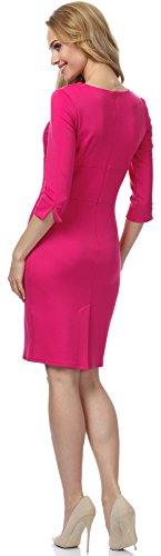 Merry Style Vestido para mujer MSSE0011 Fuchsia