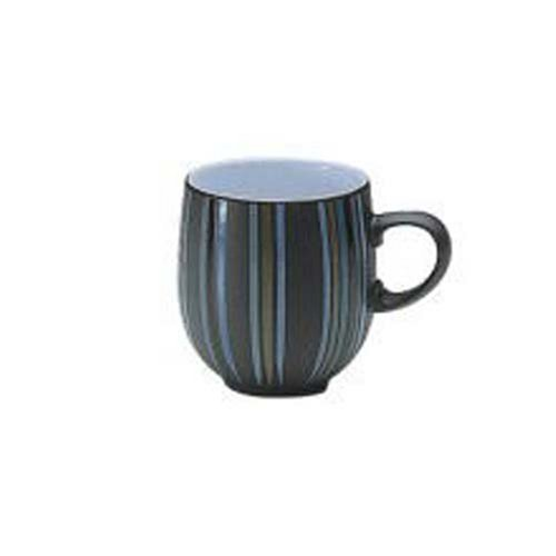 Denby Jet Stripes Large Curve - Curve Mug
