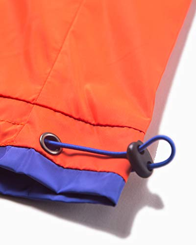 Welity Boys' Girls' Athletic Workout Gym Running Shorts with Pockets, Beach Boardshort for Youth Boys & Girls, Orange, 11-12 Years=Tag 160 by Welity (Image #4)