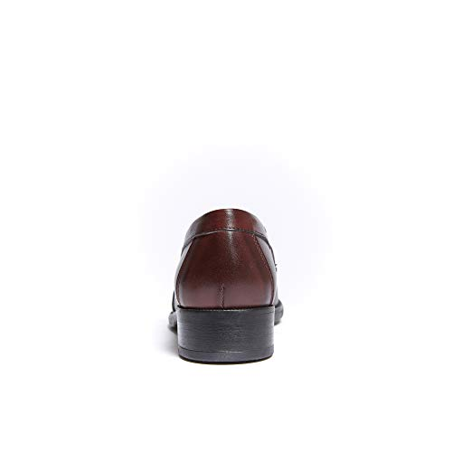 Donna Con Loafer Penny Di Mocassino Bordeaux Colore Decorazione PTvTqSwF
