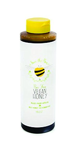Blenditup Bee Free Vegan Honey (16 Oz) - Plant Based & All Natural Apple Made Honey - Ideal for Sweeten Your Foods of Your Choice