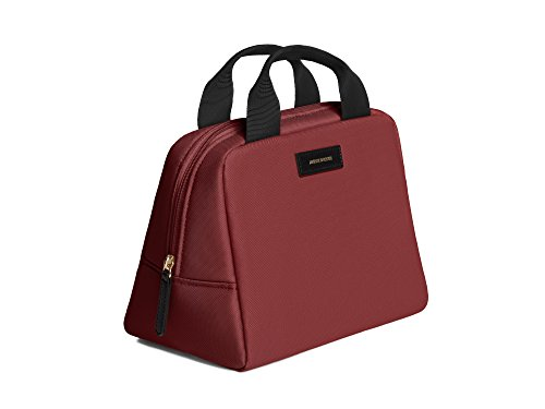 Archer Brighton Parker Insulated Lunch Bag (Burgundy)