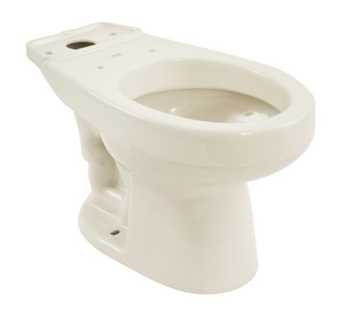 TOTO C715#11 Carusoe Round Front Bowl, Colonial White Colonial White Carusoe Toilet