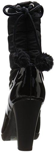 Anne Klein Women's Xhale Fabric Winter Boot Black 7Rv4crb