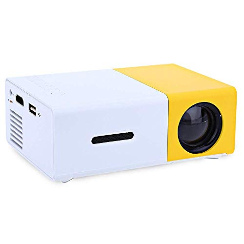 Black Lable Products Mini Portable LCD LED Projector Full HD 1080P (US Plug) from Black Lable Products