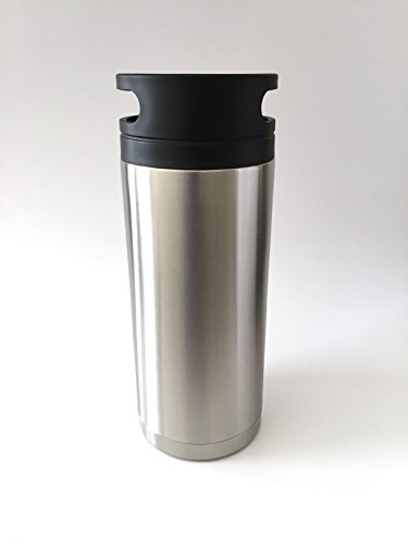 VIP Growler TM 60 oz Insulated Double Walled Stainless Steel Growler - Patent Pending-8 For the Price of 7 by VIP Growler