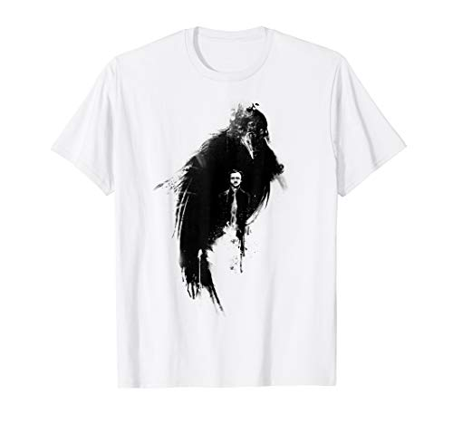 Edgar Allan Poe The Raven Nevermore T-Shirt (Did Edgar Allan Poe Never Kill Anyone)