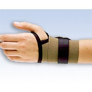 T And A Professional Light Therapy (Safe-T-Wrist Lite Duty Wrist Support, Universal Black by FLA Orthopedics)