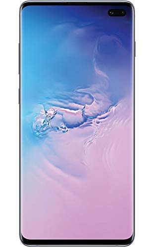 Samsung Galaxy S10+, 128GB, Prism Black - For AT&T / T-Mobile (Renewed)