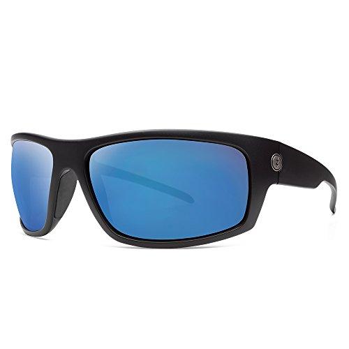 Electric Visual Tech One XLS Matte Black/OHM+Polarized Blue ()