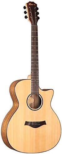 ギター アコースティックギター41インチスプルースウォルナットギター初心者プロフェッショナル 入門 ギター (Color : 2, Size : 41 inches)
