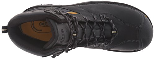 Keen Utility Mens Tacoma Waterproof Work Boot Black