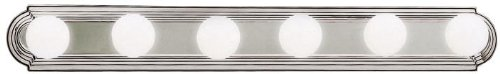 Kichler 5018NI Linear Bath 36-Inch, Brushed Nickel ()