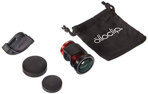 olloclip 4-In-1 Quick-Connect Lens Solution for iPhone 4/4s - Retail Packaging - Red/Black