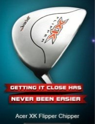- New Acer XK Chipper Flipper Golf Club Custom Right Hand