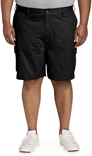 Amazon Essentials Men's Big & Tall Cargo Short match by means of DXL