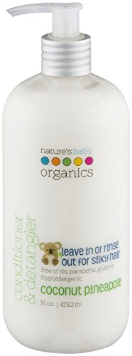 Nature's Baby Organics Conditioner & Detangler - Coconut Pin