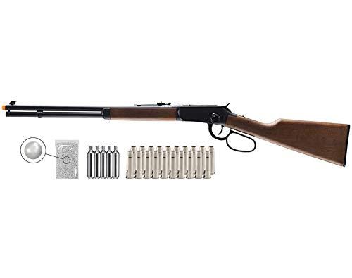 Umarex Limited Edition - Legends Saddle Gun- Lever Action 6mm BB Airsoft Gun with Wearable4U Bundle