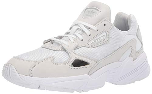 adidas Originals Women's Falcon, Crystal White, 5.5 M US
