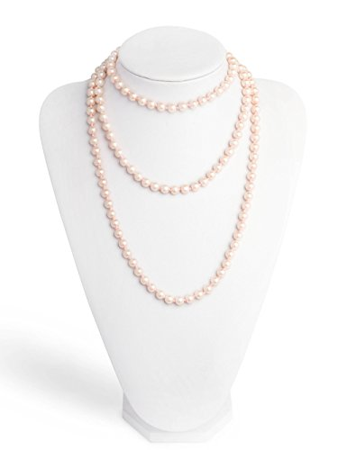 Pearls 1920s Pearls Necklace Gatsby Accessories Cluster 59