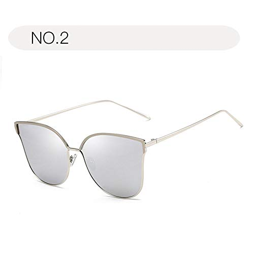 Femmes Hksfnsj Aviator Eyewear Uv400 Retro Taille No De 2 Pour protection Lunettes Metal Sécurité Size No Soleil 2 Sports couleur Shades Free fCqxXfwr