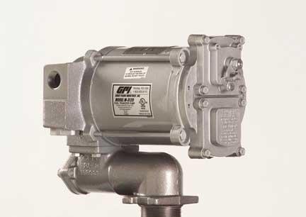 GPI 133200-07 Aluminum M-3120-PO Heavy Duty Vane Pump, 20 GPM, 115V AC