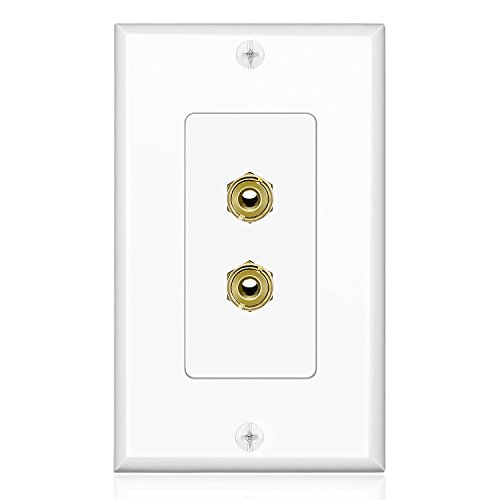 TNP Theater Speaker Plate Outlet