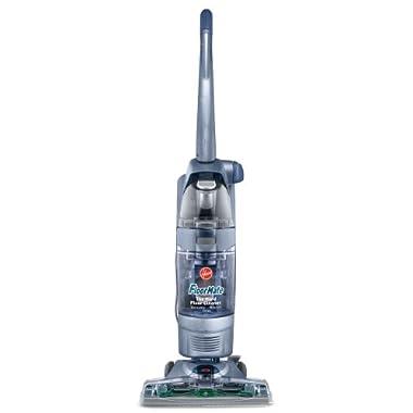 Hoover FloorMate SpinScrub Upright Vacuum with Bonus Hard Floor Wipes, FH40010B