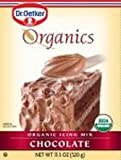 European Gourmet Bakery Organic Chocolate Icing Mix, 11 Ounce -- 12 per case.