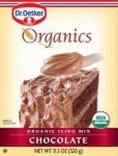 European Gourmet Bakery Organic Chocolate Icing Mix, 11 Ounce - 12 per case.