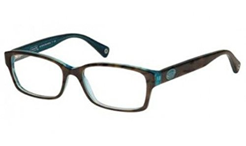 Coach Women's HC6040 Eyeglasses Dark Tortoise/Teal 50mm