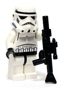 LEGO Star Wars LOOSE Mini Figure Stormtrooper with Blaster Rifle