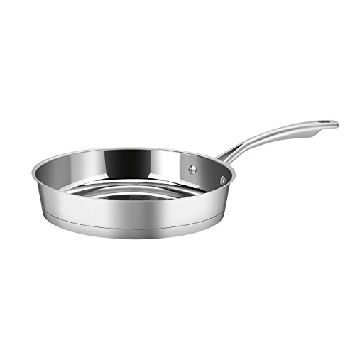 Advantage Stainless Steel Skillet - Cuisinart 72I22-24 Conical Stainless Steel Skillet, Medium