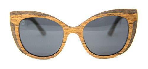 Óculos De Sol De Madeira Helen Wood, MafiawooD