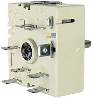 Backofen Energieregler Kochplatte EGO 50.57021.010 AEG Bosch Siemens Miele Herd