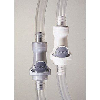 CPC (Colder) HFCD23835 Quick-Disconnect Fittings, valved Elbow Hose Barb Inserts, PES, 1/2