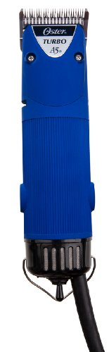 oster-a5-turbo-2-speed-professional-animal-clipper-velvet-blu