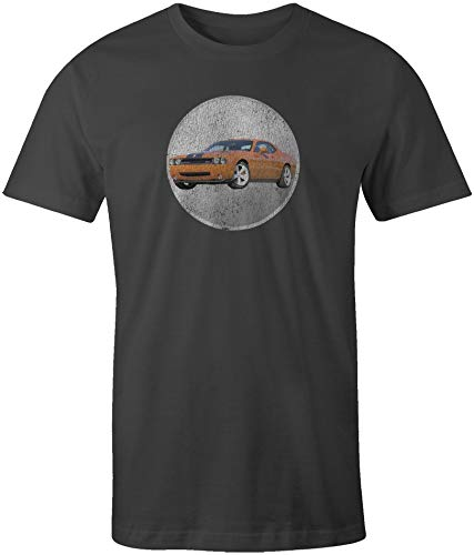 Dodge Challenger Short Sleeve T-Shirt Vintage Black