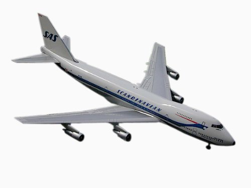 (Gemini Jets Scandinavian (Old Colors) B747-200 1:400 Scale)