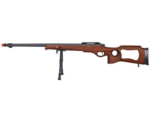 Well MB09 Airsoft Sniper Rifle W/Bipod - Wood