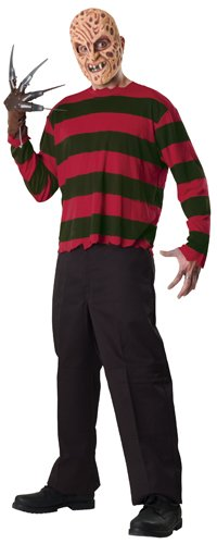 Rubie's Men's A Nightmare On Elm Street: Freddy Krueger Costume, As Shown, Standard