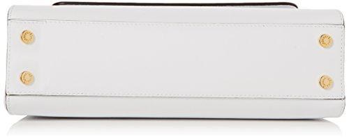Braccialini Alicia, Borsa a Spalla Donna, 30x19.5x9.5 cm (W x H x L) Bianco