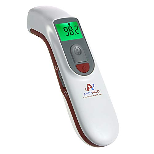 Handheld Digital NonContact Infrared Forehead Thermometer Temperature Meter J4H7