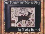 and Heaven and Nature Sing Cross Stitch Chart
