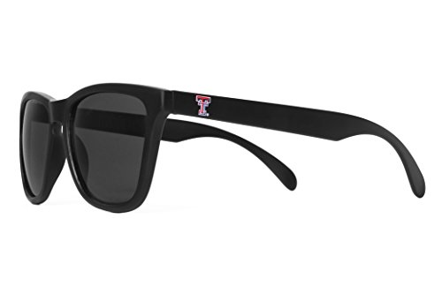 NCAA Texas Tech Red Raiders  TEXTECH-6 Matte Black Special Edition Sunglasses, Matte, One Size