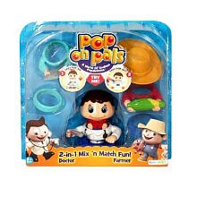 Pop-On Pals Figure Pack - Doctor and Farmer