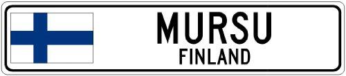 MURSU, FINLAND - Finland Flag City
